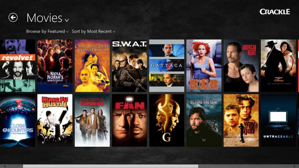 best free movie app for windows 8